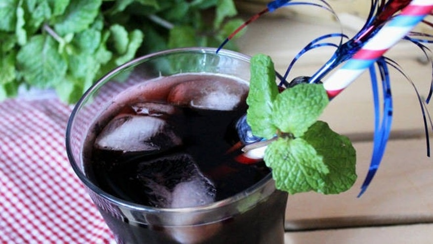 This bourbon and VOGA drink is sure to please at your next summer party.