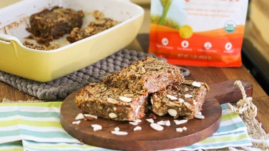 These are delicious bars and great for on-the-go snacking.