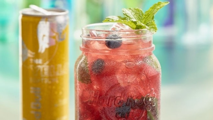 This drink will cure those summertime blues.