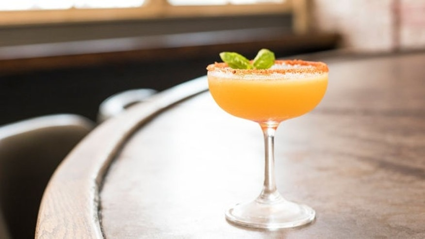 Celebrate with this fruity cocktail.