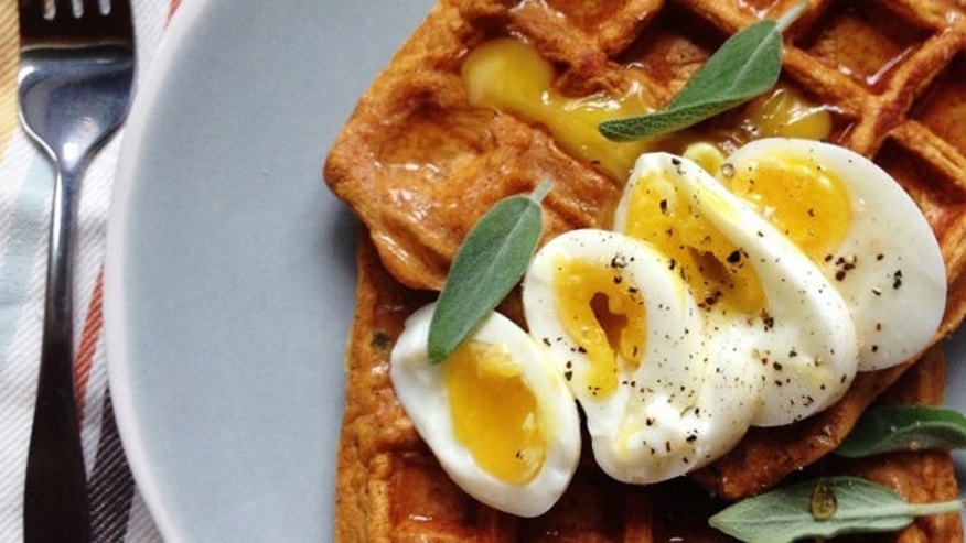 These waffles are not only delicious but healthy too.