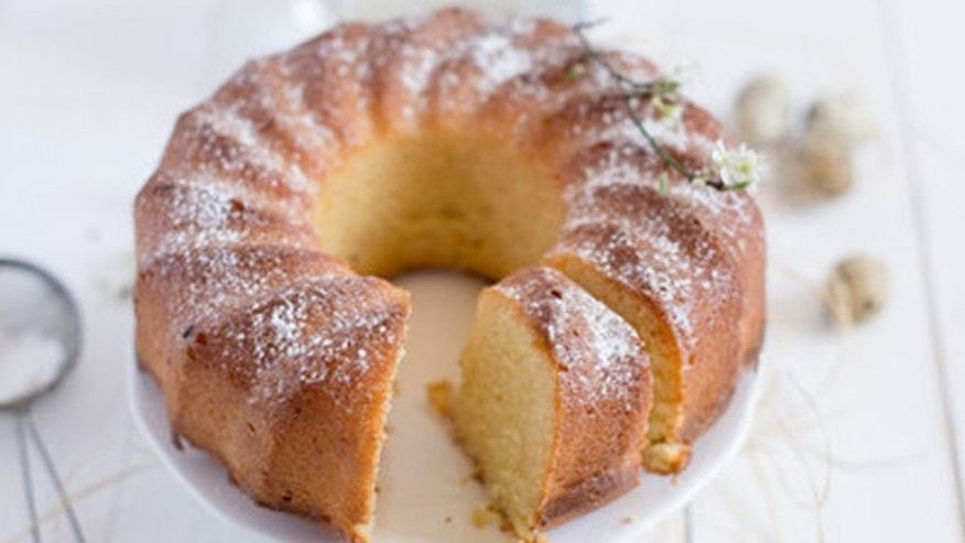 This recipe makes a beautiful yet simple and delicious cake.