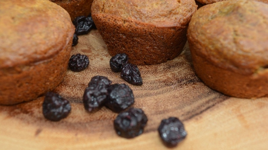 Add some fruit to your normal bran muffin recipe.