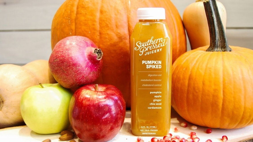 Refresh yourself with this fall flavored juice.