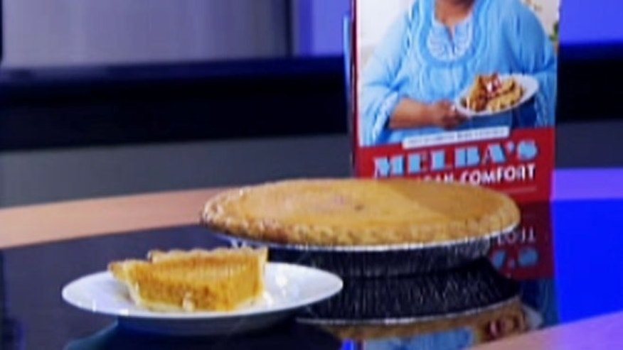 A fluffy, melt-in-your-mouth sweet potato pie.