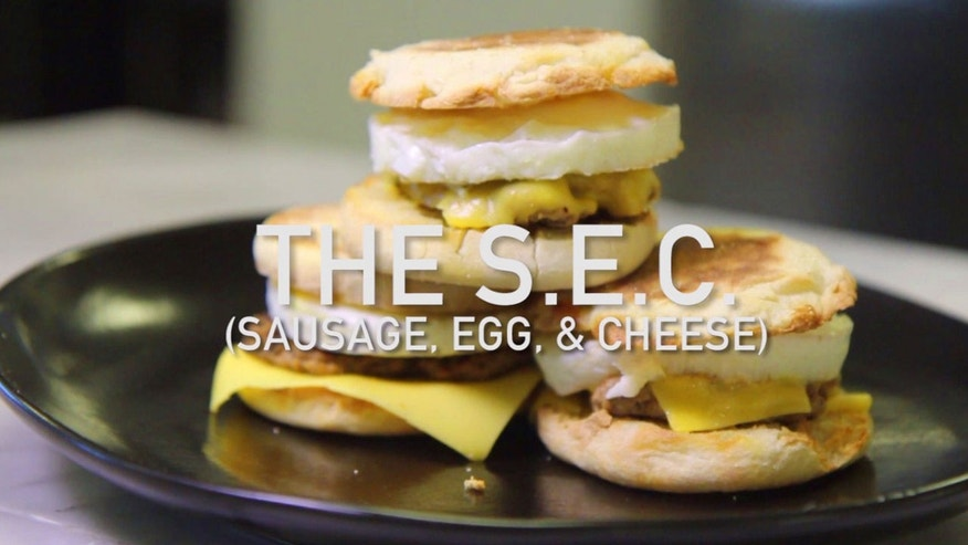 The SEC - Sausage, Egg and Cheese.