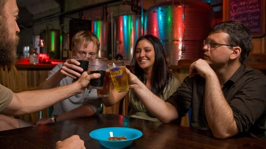 Asheville is home to ten local microbreweries, more per capita than any other city in the U.S.