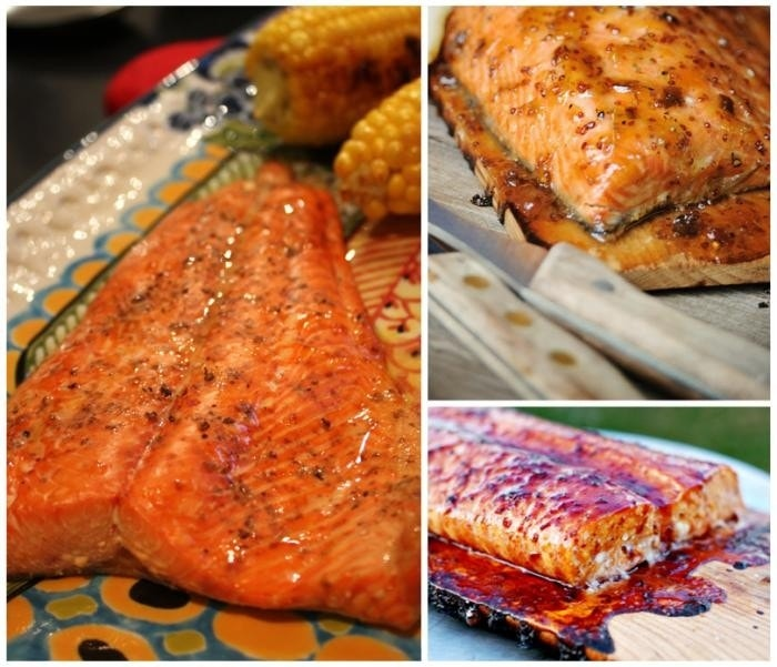 It 39 s the wood that makes it good seven ways to cedar for Grilling fish on cedar plank