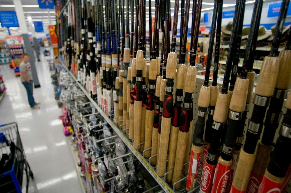 Ohio man steals 3 800 worth of fishing gear from walmart for Does walmart sell fish
