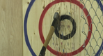 Competitive axe-throwing