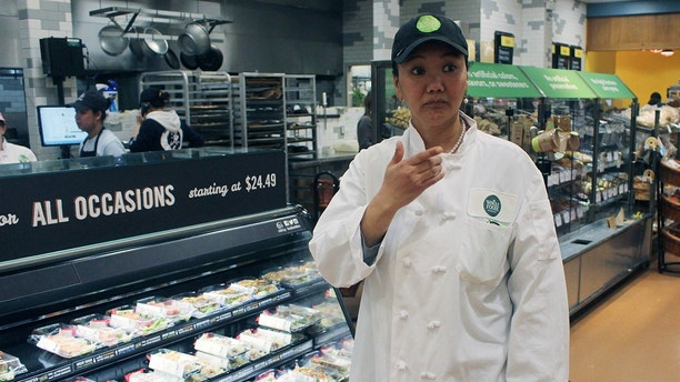 whole foods worker AP