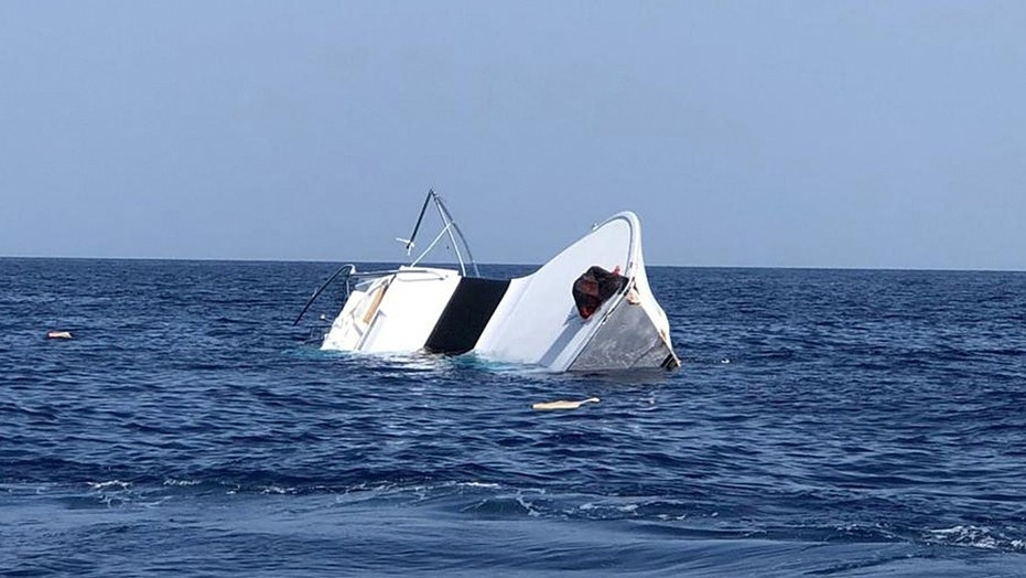 A $1 million fishing boat crashed and sank during a fishing tournament off the coast of Texas.