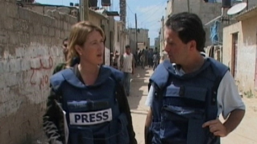 Jennifer Griffin speaks with Fox News producer Ibrahim Hazboun in the Jerusalem bureau.