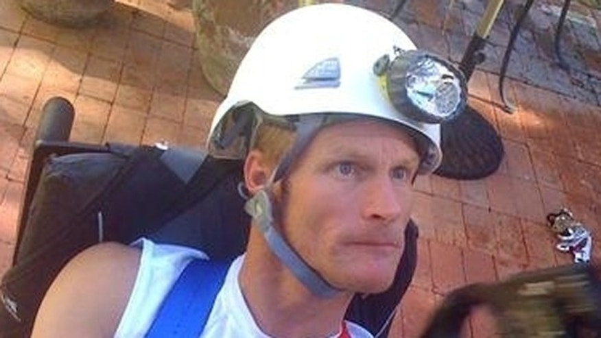 Steve Wampler, 42, of Coronado, Calif., has cerebral palsy, and he is attempting to climb El Capitan.