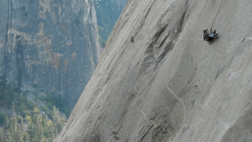 El Capitan is 3,000-feet of vertical rock.
