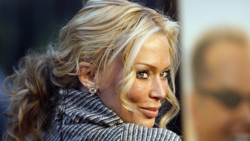 Adult film actress Jenna Jameson poses in Los Angeles.