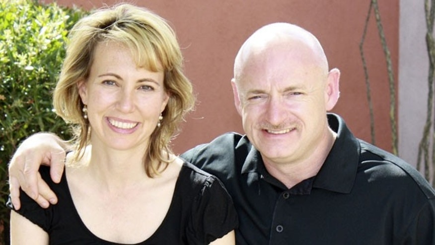 U.S. Rep. Gabrielle Giffords and husband Mark Kelly