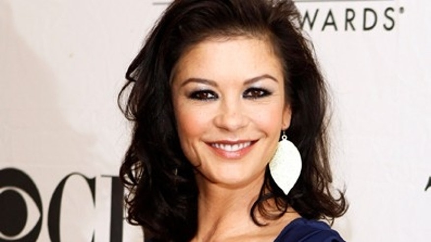May 5, 2010: Catherine Zeta-Jones arrives for a Tony Award nominees press reception in New York City.