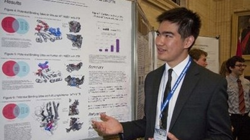 Marshall Zhang, 16, has found a promising treatment for cystic fibrosis.