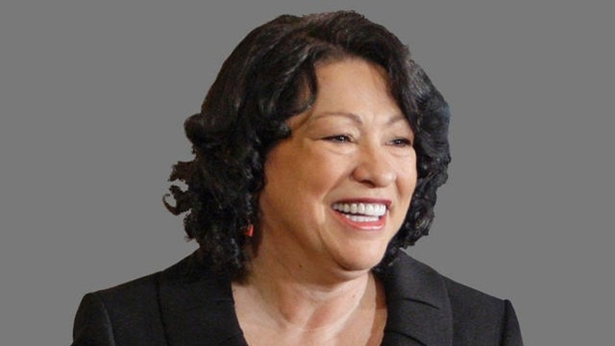 U.S. Supreme Court Justice Sonia Sotomayor injects herself with insulin four to six times a day, including often before she takes the bench with her colleagues to hear arguments in Supreme Court cases.