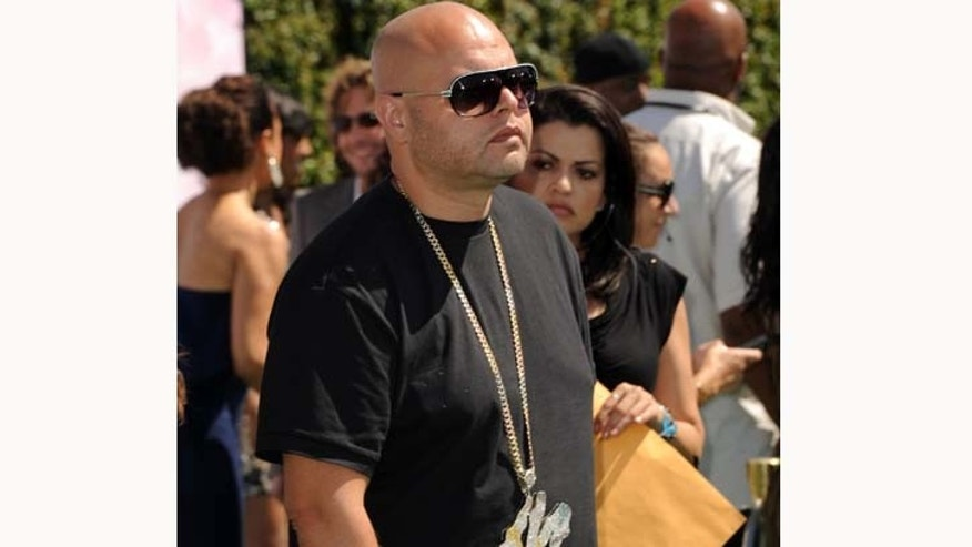 A slimmed down Fat Joe arrives at the BET Awards ceremony held at the Shrine Auditorium in June, 2011 in Los Angeles. Fat Joe has dropped 100 lbs. and says he is not yet done losing weight.