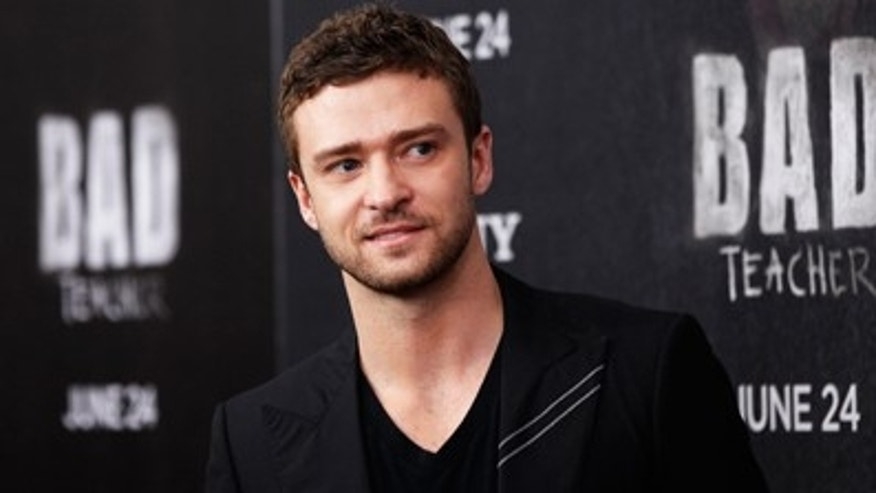 Justin Timberlake always dresses for success.