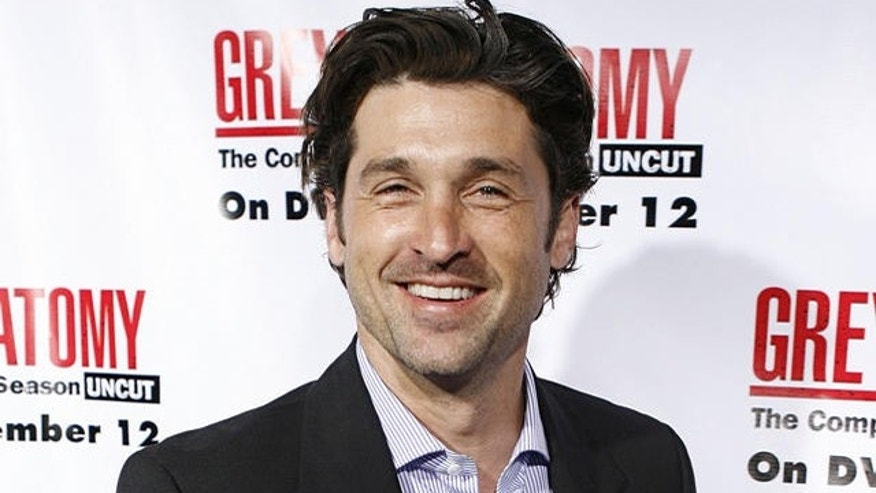 "Actor Patrick Dempsey arrives at the ""Grey's Anatomy"" Season 2 DVD release party in the Hollywood section of Los Angeles, Tuesday, Sept. 5, 2006. (AP Photo/Matt Sayles)"