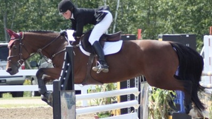 Casey Lorusso said her love of horses helped her get past her addiction.