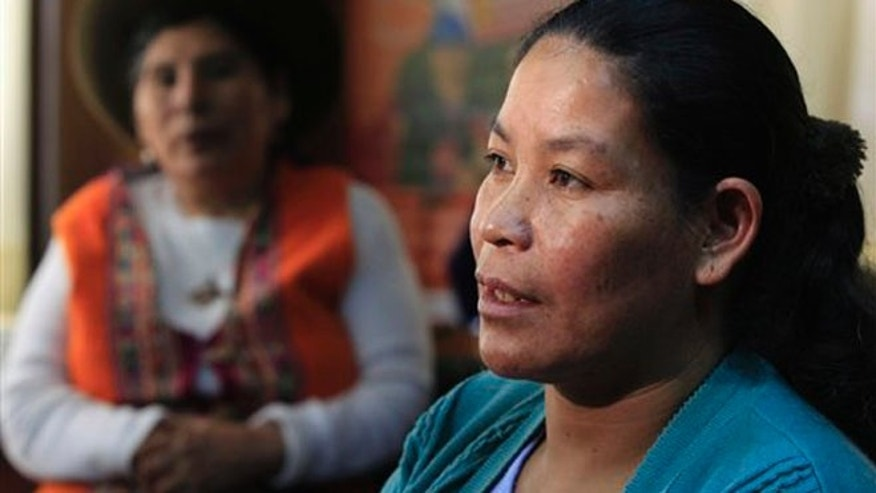 Aurelia Paccohuanca alleges that she was forcibly sterilized in Peru 15 years after giving birth to her fourth child.