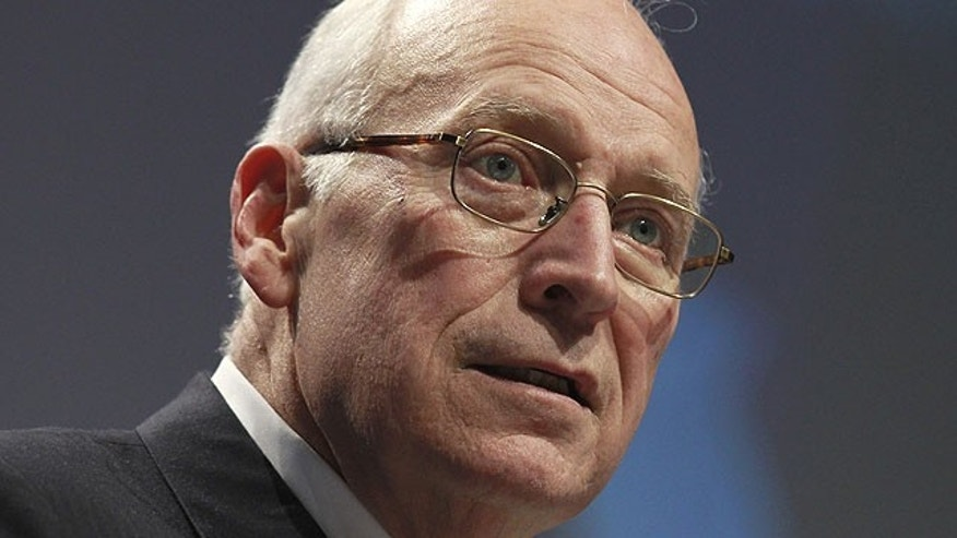 In this Feb. 10, 2011, file photo, Former Vice President Dick Cheney addresses the Conservative Political Action Conference in Washington.