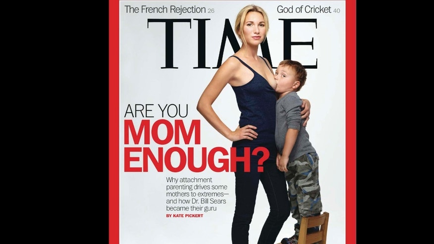 This image provided by Time magazine shows the cover of the May 21, 2012 issue .