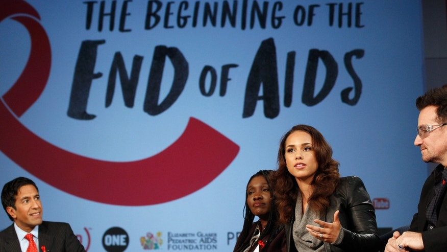 Celebrities are among the many people continuing to raise awareness on HIV/AIDS.
