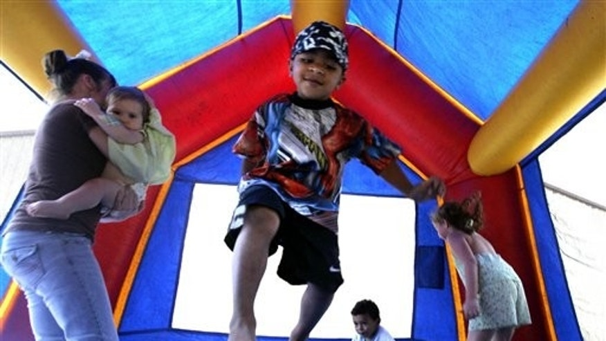 The numbers suggest 30 U.S. children a day are treated in emergency rooms for broken bones, sprains, cuts and concussions from bounce house accidents.