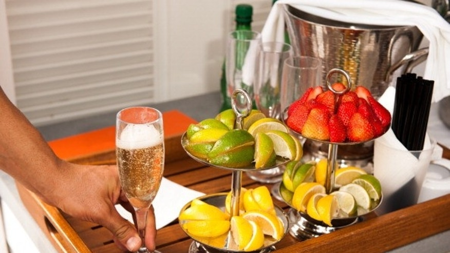 A festive fruit tray can be served to kick off the holiday season.