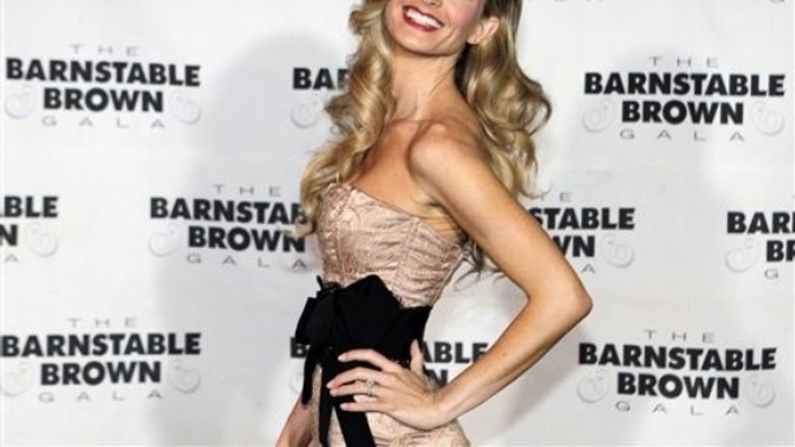 Marisa Miller arrives at the Barnstable Brown Derby party in Louisville, Ky., Friday, April 30, 2010. The 136th Kentucky Derby horse race will be held Saturday, May 1. (AP Photo/Darron Cummings)