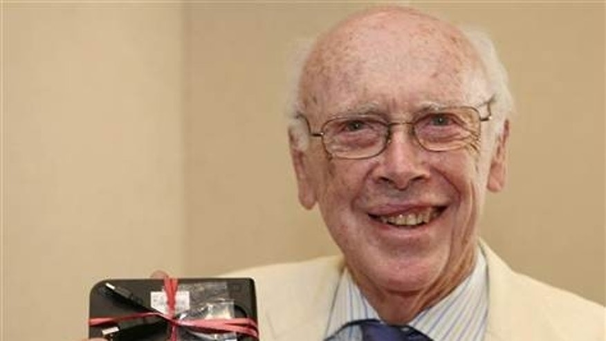 Dr. James Watson is the co-discoverer of the DNA helix and father of the Human Genome Project