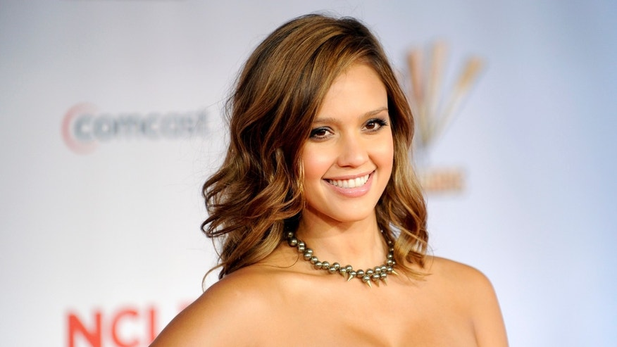 Jessica Alba (Courtesy Reuters)