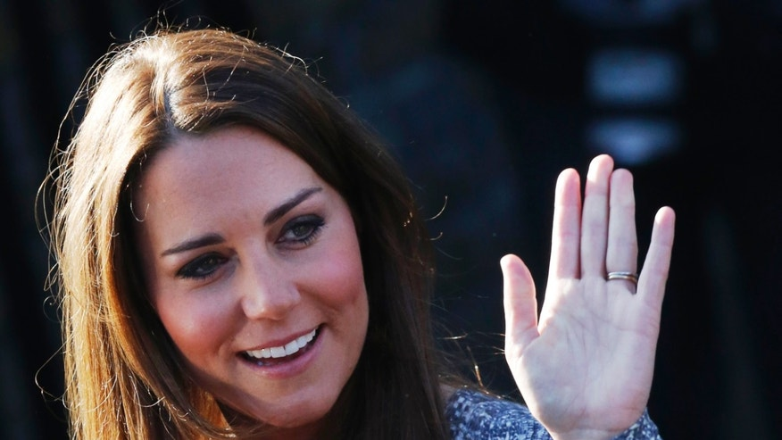 Britain's Catherine, Duchess of Cambridge leaves Hope House addiction treatment center after an official visit in London February 19, 2013.