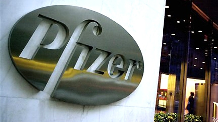 The world headquarters of Pfizer Inc. in New York City.