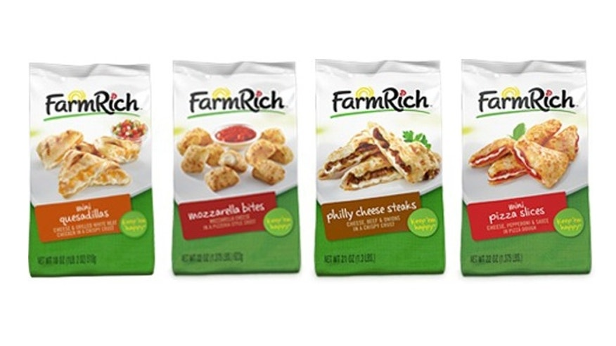 Farm Rich's recalled products.