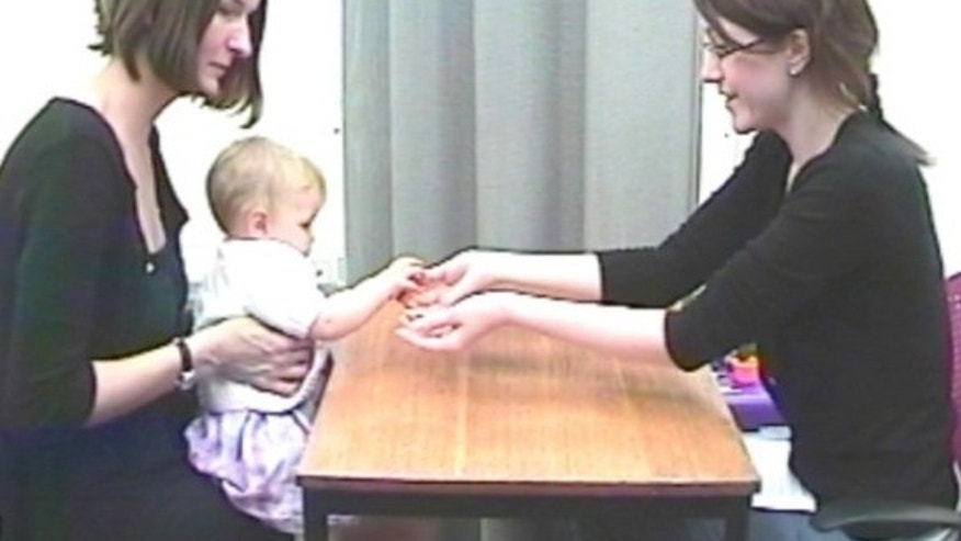 Sighted babies of blind moms seem to have better visual attention and memory than their peers with sighted parents, new research suggests