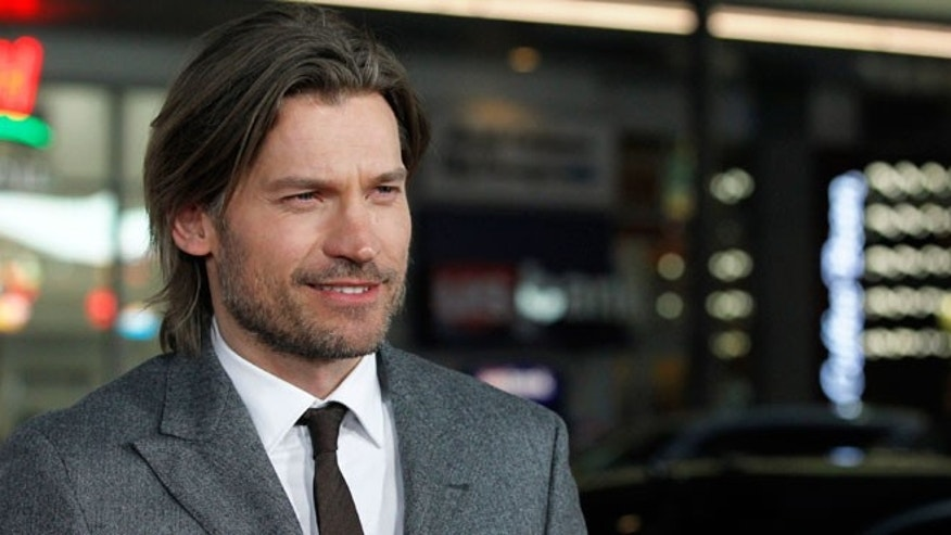 "Cast member Nikolaj Coster-Waldau poses at the premiere for the third season of the television series ""Game of Thrones"" in Hollywood on March 18, 2013."