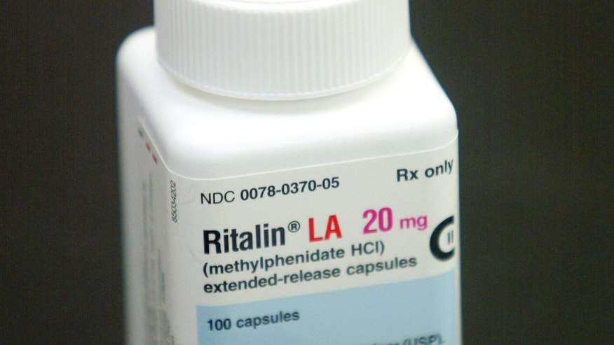 A bottle of Ritalin sits on the counter of the Post Haste Pharmacy And Surgical Store in Hollywood, Florida.  (Photo by Joe Raedle/Getty Images)