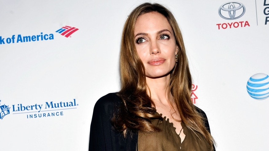 Actress Angelina Jolie attends the Women in the World Summit 2013 on April 4, 2013 in New York, United States.  (Photo by Daniel Zuchnik/Getty Images)