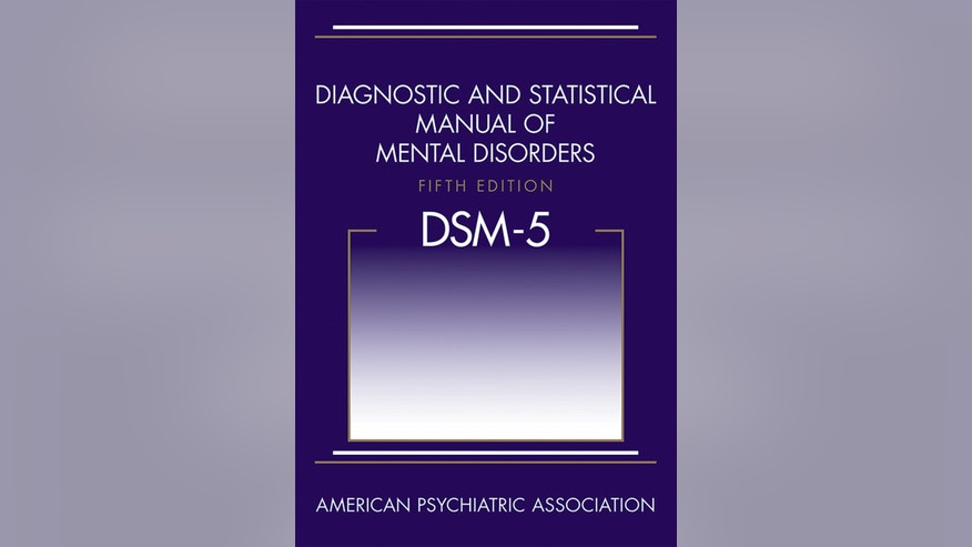 Cover of the revised American Psychiatric Association's guidebook of mental disorders released in May 2013, the manual's first major update in nearly 20 years.