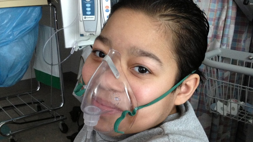 This undated photo shows Javier Acosta, 11, of New York, who has cystic fibrosis and is in intensive care at Children's Hospital of Philadelphia, the same hospital where 10-year-old Sarah Murnaghan is a patient.
