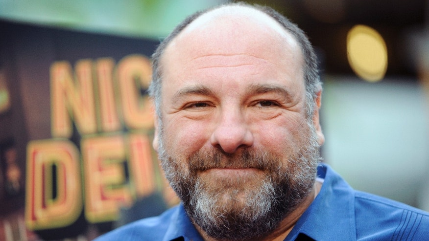 "This May 20, 2013 photo shows actor James Gandolfini at the Los Angeles premiere of ""Nicky Deuce"" in Los Angeles. HBO and the managers for Gandolfini say the actor died Wednesday, June 19, 2013, in Italy. He was 51."