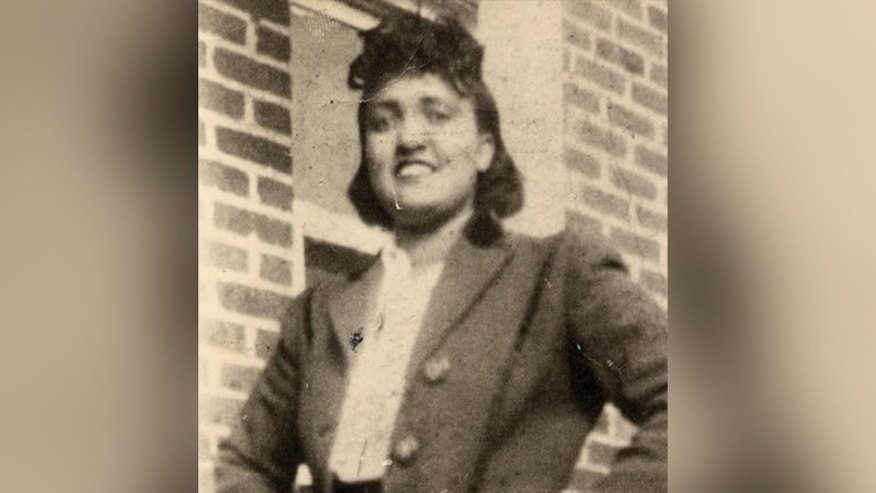 This 1940s photo made available by the family shows Henrietta Lacks. In 1951, a doctor in Baltimore removed cancerous cells from Lacks without her knowledge or consent.