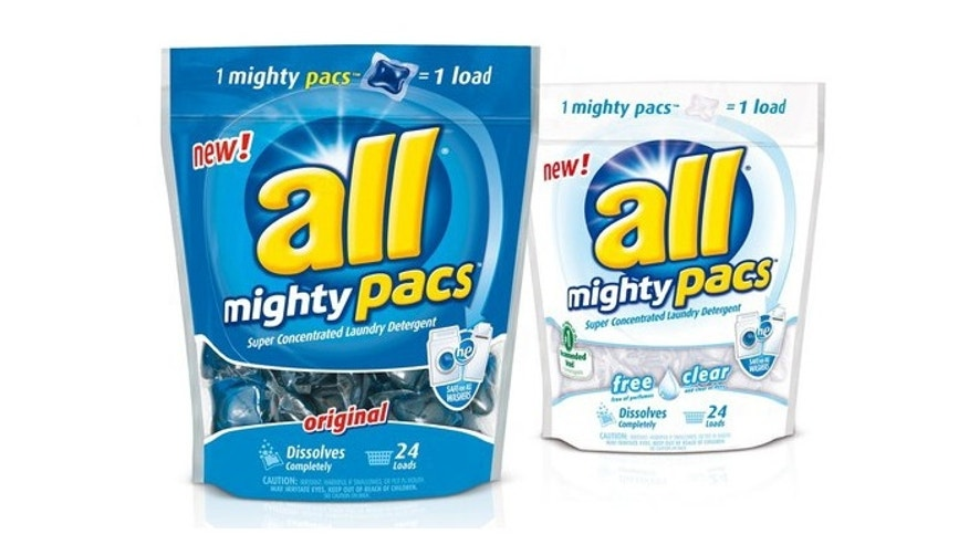 All Mighty Pacs made by the Sun Products Corp.