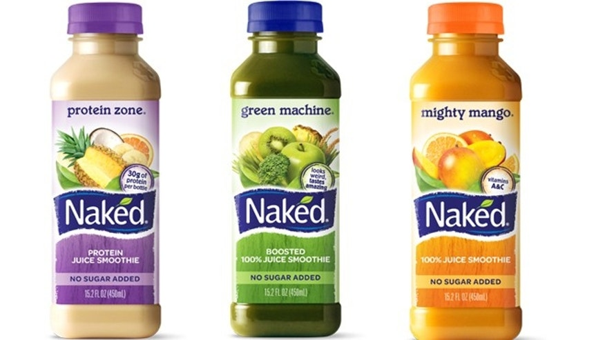 With buy naked juice drinks